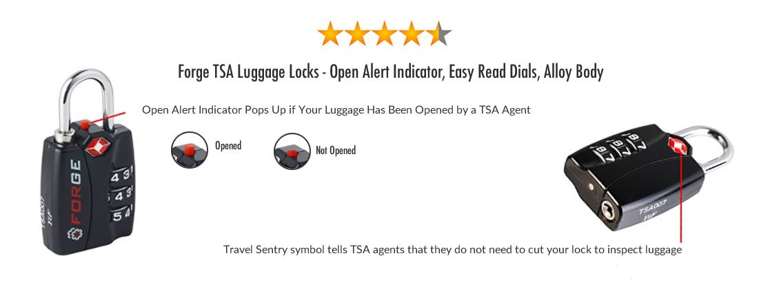 TSA Approved Locks | Why and How to Secure Your Luggage