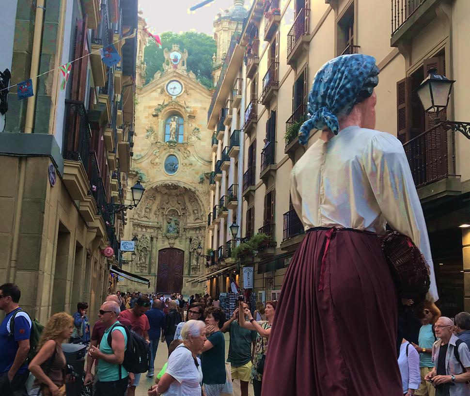 Parte Viaje San Sebastian